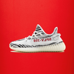 Yeezy v2 zebra - Full Color Mug