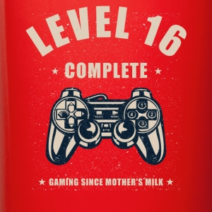 Level 16 Complete Video Gaming T Shirt - Full Color Mug