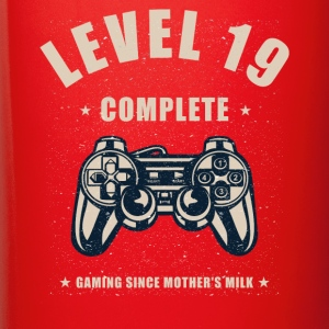 Level 19 Complete Video Gaming T Shirt - Full Color Mug