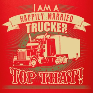 Happily married Trucker - Full Color Mug