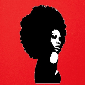 black women afro - Full Color Mug