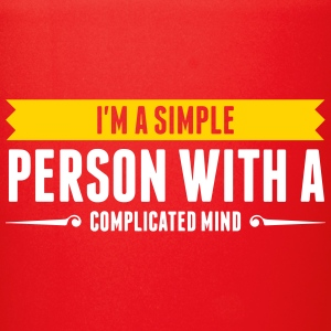 I'm A Simple Person With A Complicated Mind - Full Color Mug