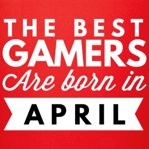 The best Gamers are born in April - Full Color Mug