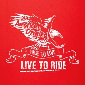 MOTORCYYCLE BIKER AN AMERICAN EAGLE FLY GIFT ROCK - Full Color Mug