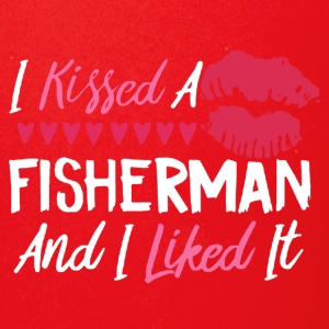 I KISSED A FISHERMAN SHIRT - Full Color Mug