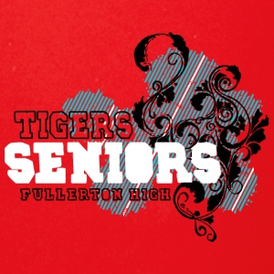 TIGERS SENIORS FULLERTON HIGH - Full Color Mug