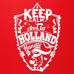 HOLLAND KEEP CALM TEE SHIRT - Full Color Mug