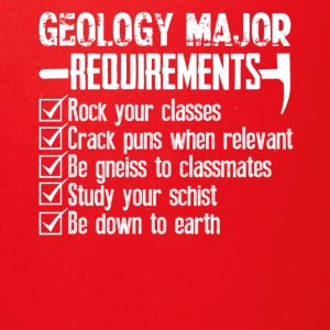 Geology Major Requirements Checklist Funny Shirt - Full Color Mug