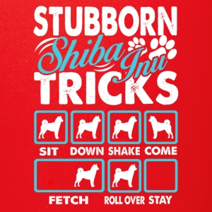 Stubborn Shiba Inu Tricks Tee shirt - Full Color Mug