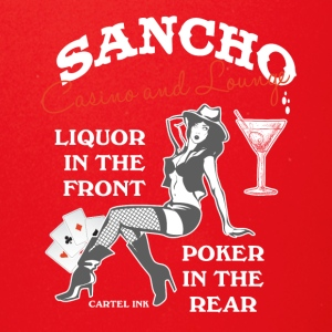 Sancho casino and lounge Liquor in the front - Full Color Mug