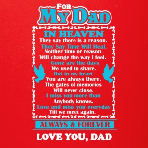 Dad In Heaven Shirt - Full Color Mug