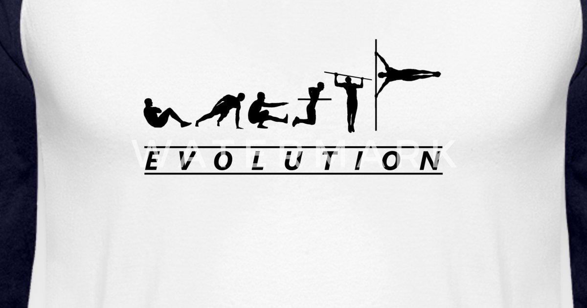 875380be Calisthenics Evolution Street Workout Exercises Unisex Baseball T-Shirt |  Spreadshirt