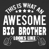 THIS IS WHAT AN AWESOME BIG BROTHER LOOKS LIKE - Baseball T-Shirt