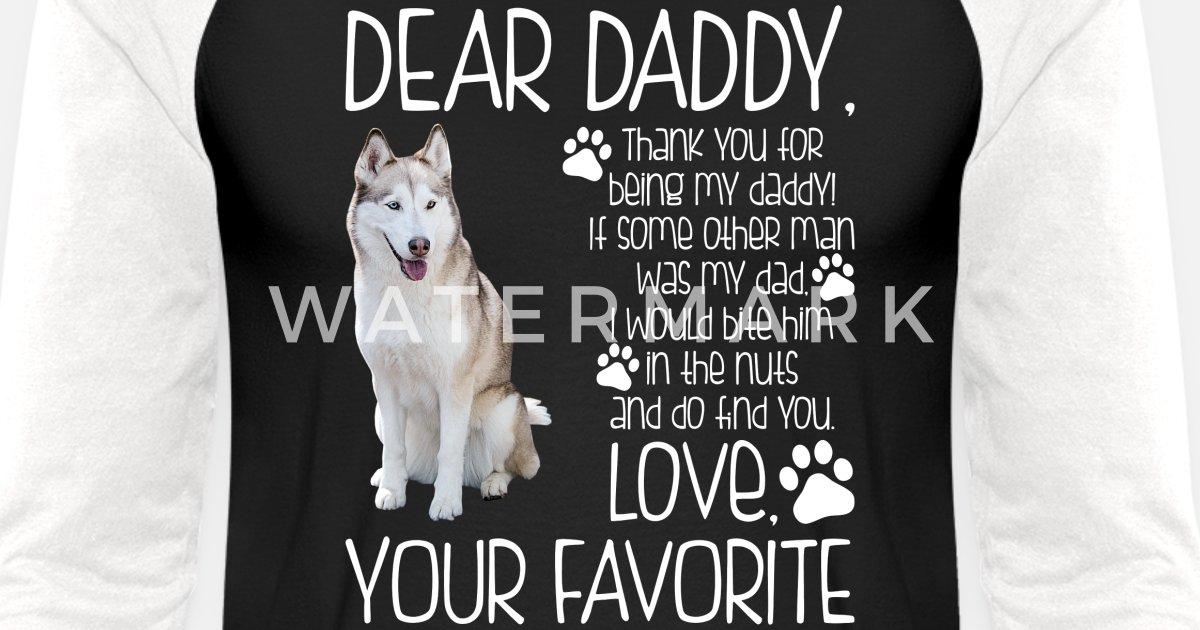 6394647c0dfb Love Your Favorite Husky Dog Tshirt Unisex Baseball T-Shirt | Spreadshirt
