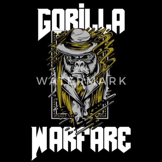 gorilla war wear us Unisex Hoodie