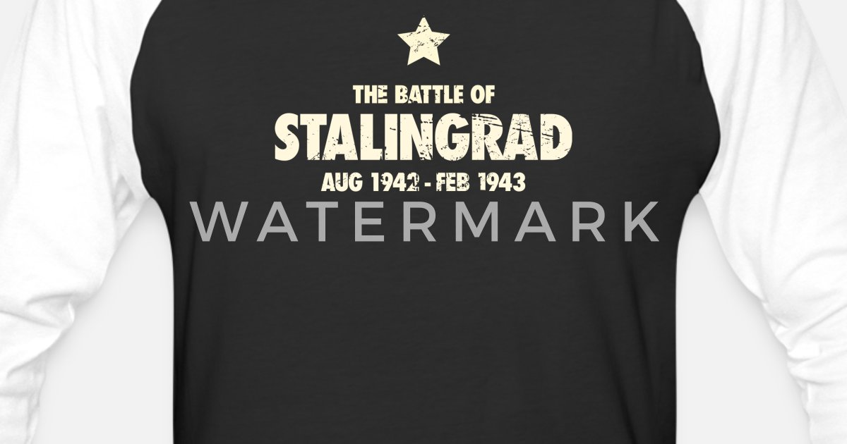 Unisex Baseball Of War T Battle 2 Wwii Shirt Stalingrad World N0wvm8nO