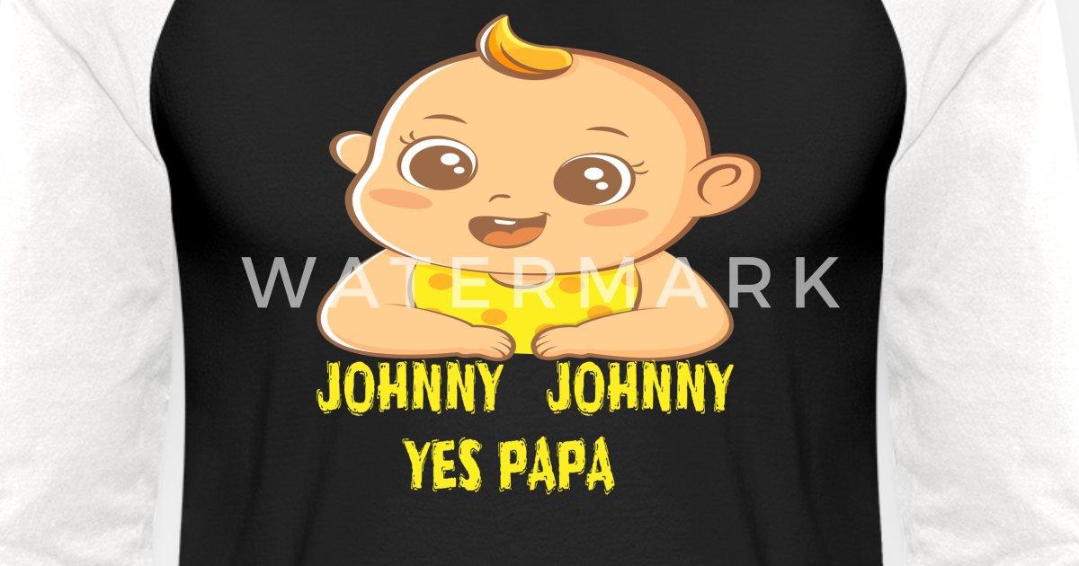 16894afc3 Johnny Johnny T-shirt Unisex Baseball T-Shirt   Spreadshirt