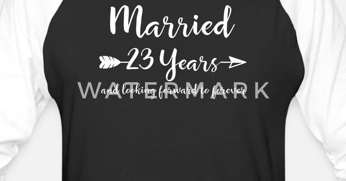 23 Wedding Anniversary Gift Ideas: 23rd Wedding Anniversary Gift T-Shirt For Him Her Couples