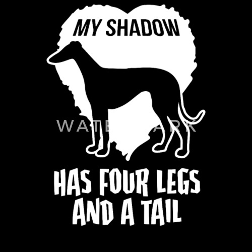 Sit Down Shake Come Fetch Standard Unisex T-shirt Stubborn Saluki Tricks Dogs