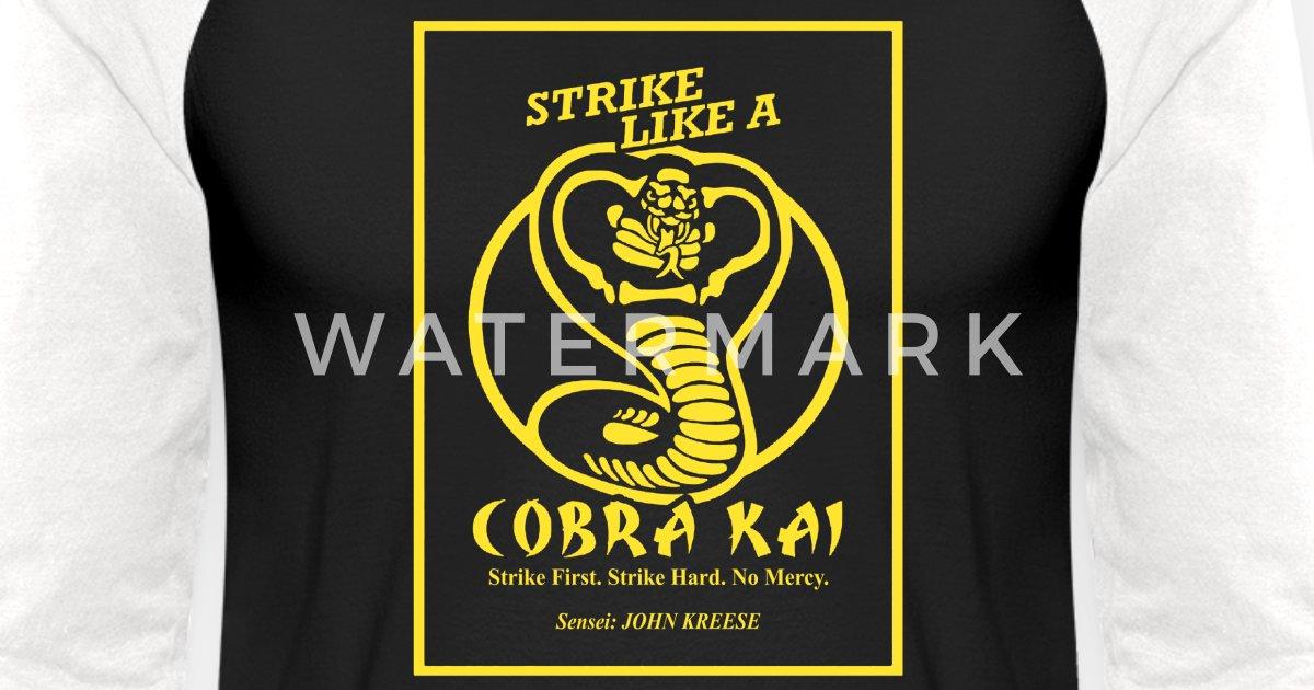 Cobra Kai Shirt: Cobra Kai Unisex Baseball T-Shirt