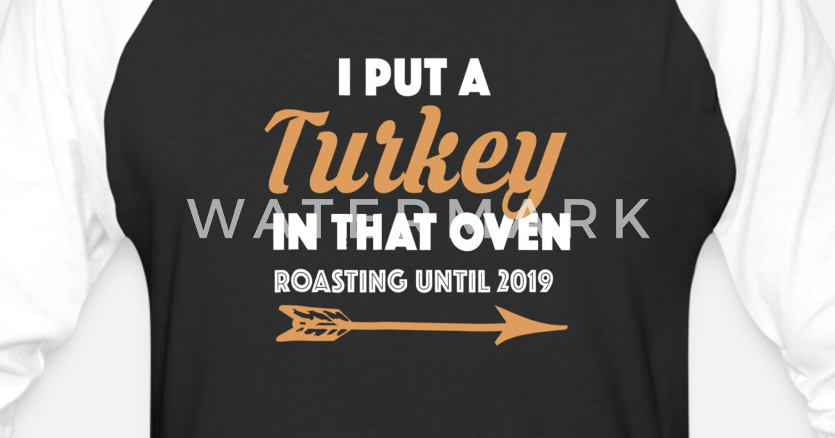 fbaf36938 Funny Thanksgiving Pregnancy Announcement Shirt Unisex Baseball T-Shirt |  Spreadshirt