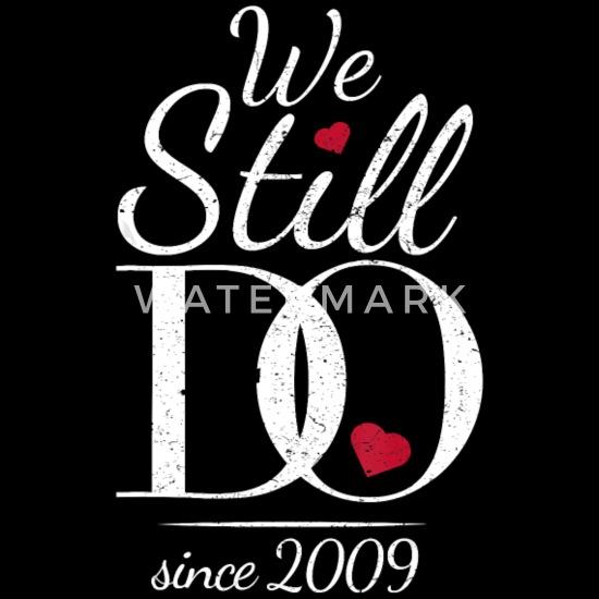 10th Wedding Anniversary T Shirt We Still Do Sin Unisex Baseball T