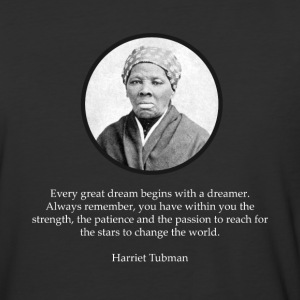 Harriet Tubman Quote Civil Rights - Baseball T-Shirt