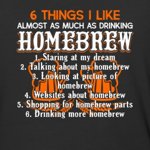Drinking Homebrew Shirt - Baseball T-Shirt