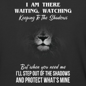 I am there waiting watching keeping to the shadows - Baseball T-Shirt