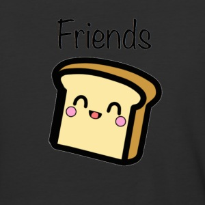 Bread BFF Shirt - Baseball T-Shirt