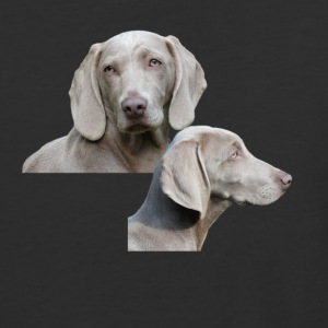 Weimaraner dog - Baseball T-Shirt