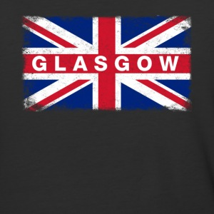 Glasgow Shirt Vintage United Kingdom Flag T-Shirt - Baseball T-Shirt