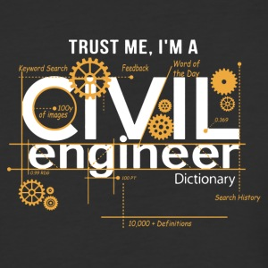 Civil Engineer Shirt - Baseball T-Shirt