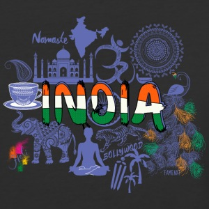 Welcome to India Purple Shirt - Baseball T-Shirt