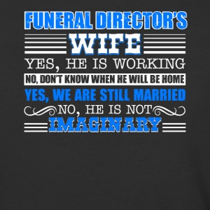Funeral Director Wife Shirt - Baseball T-Shirt