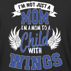 I'm A Mom To A Child With Wings T Shirt - Baseball T-Shirt