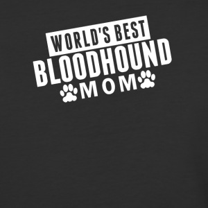 World's Best Bloodhound Mom - Baseball T-Shirt