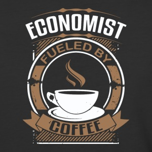 Economist Fueled By Coffee - Baseball T-Shirt