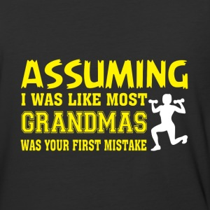 I Was Like Most Grandmas T Shirt - Baseball T-Shirt