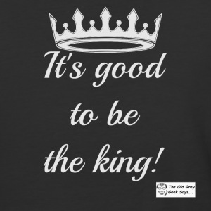 It's Good To Be The King! (light design) - Baseball T-Shirt