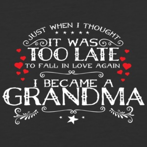 I Became A Grandma - Baseball T-Shirt