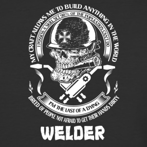 I Am A Welder - Baseball T-Shirt