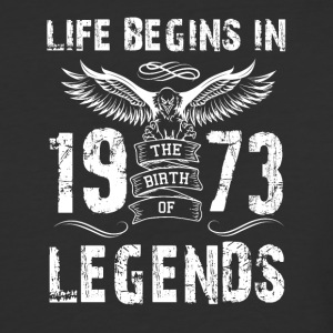 Life Begin In 1973 Legends - Baseball T-Shirt
