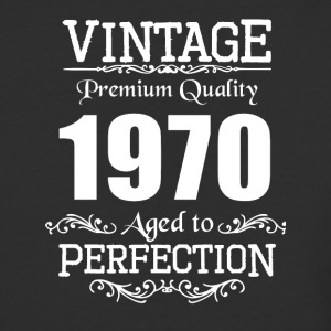 Vintage Premium Quality 1970 Aged To Perfection - Baseball T-Shirt