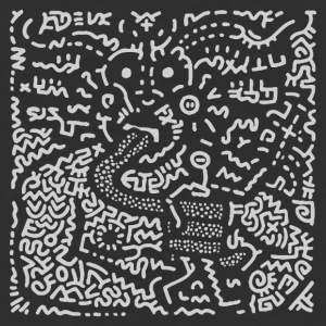 KEITH HARING ART STREET - Baseball T-Shirt