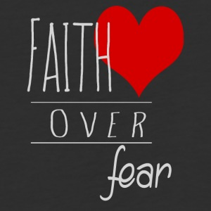 Faith Over Fear - Baseball T-Shirt