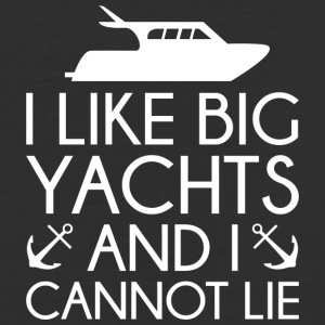 I Like Big Yachts - Baseball T-Shirt