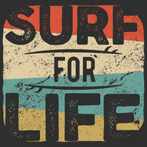 Surf for life - Baseball T-Shirt
