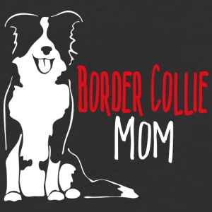 Border Collie Mom - Baseball T-Shirt