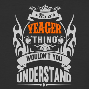 YEAGER THING TSHIRT - Baseball T-Shirt